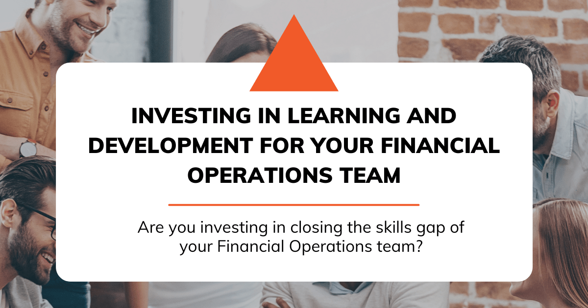 Learning and Development in Financial Operations